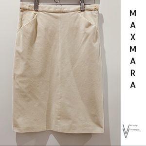 MaxMara Made in Italy Skirt